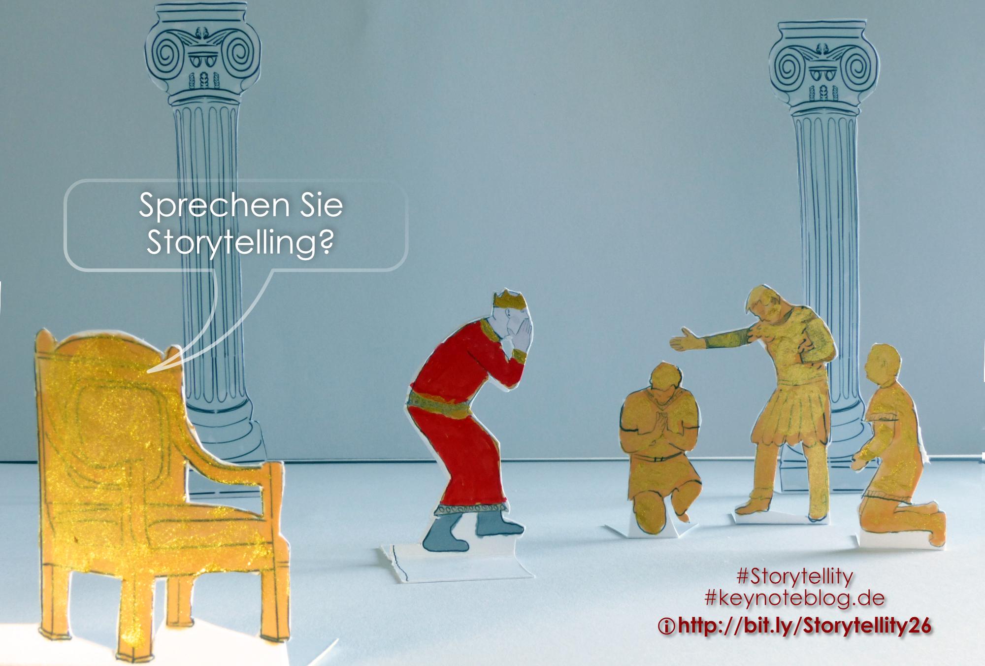 König Midas hat seinen Hofstaat in Gold verwandelt und erkennt den fatalen Fehler, den er gemacht hat